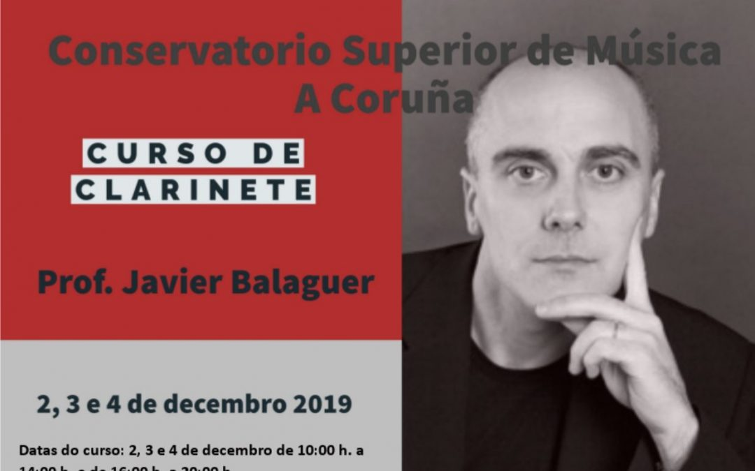 Javier Balaguer, Curso Clarinete