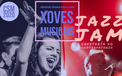 Jueves Musicales – Jazz Jam en la Cafetería del Conservatorio