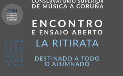 Encuentro Ensayo Abierto  ' La Ritirata '